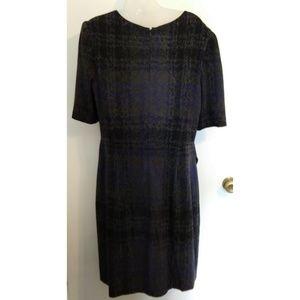 Betsey Johnson Dresses - Betsey Johnson Blue Heavyweight Winter Dress sz 14